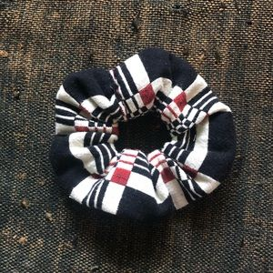 ace&jig mini geo scrap scrunchie